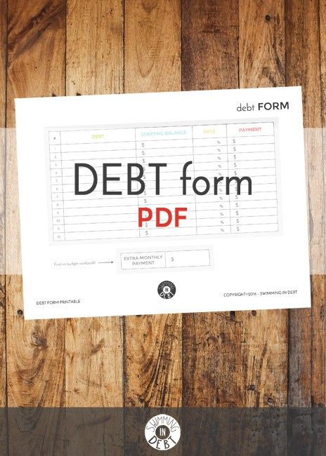 are you swimming in debt and have no idea what debt to start paying off first use our debt calculator to figure out how to pay off debt its free