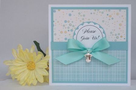 Baby Shower Invitation Template Cute Boy Handmade Card Ideas Homemade Invitations 448x298