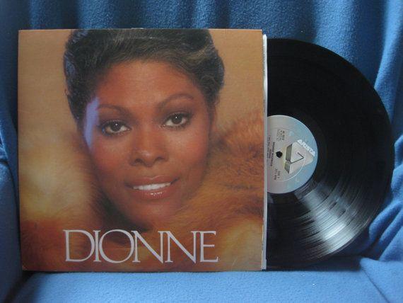 Vintage Dionne Warwick Dionne Vinyl Lp Record Dionne Warwick Vinyl Record Album