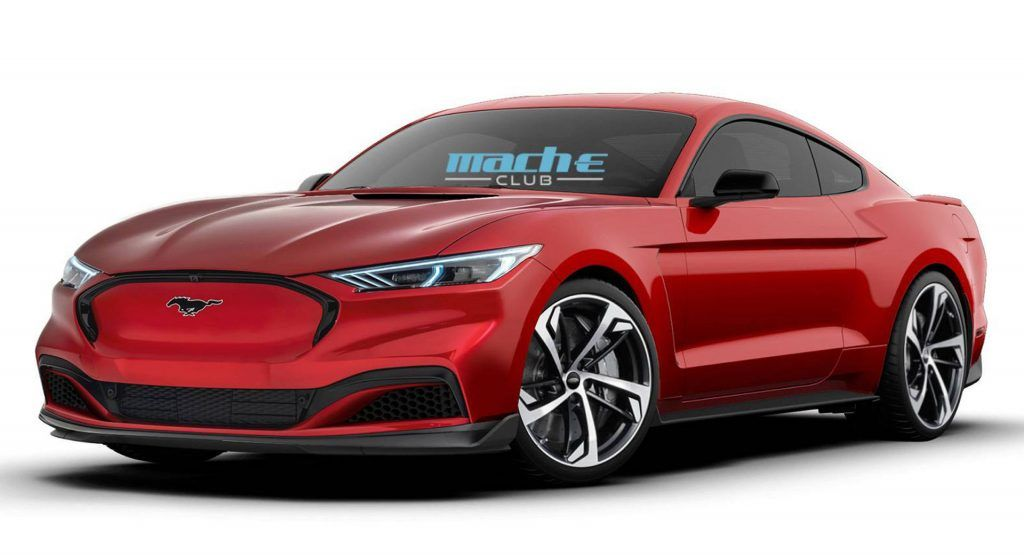 This Is What A Ford Mustang Mach E Coupe Could Look Like Ford