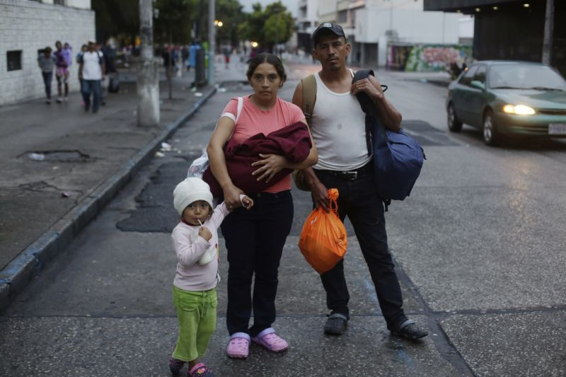 For Honduran migrants in caravan, the journey is personal