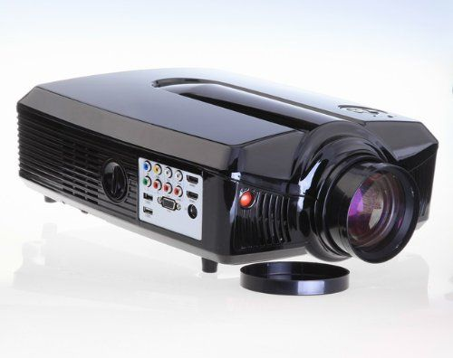 Vvme V67 Led Hdmi Projector 720p Hd Ready Native Wxga 1280 X 800