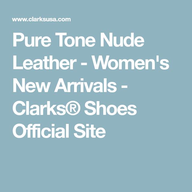c386537385d Pure Tone Nude Leather - Women s New Arrivals - Clarks® Shoes Official Site