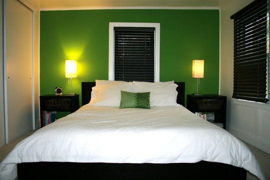 Pin By Barefootrooster On Lake House Bedroom Green Green Rooms Sage Green Bedroom