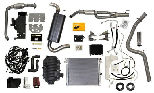 Aev 6 4l Vvt V8 Hemi Conversion Kit For 07 10 Jeep Wrangler