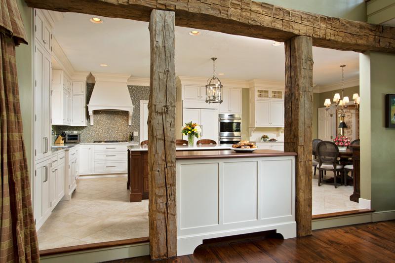 Walnut Countertop Room Divider Designed By Eva Andersen Kitchen