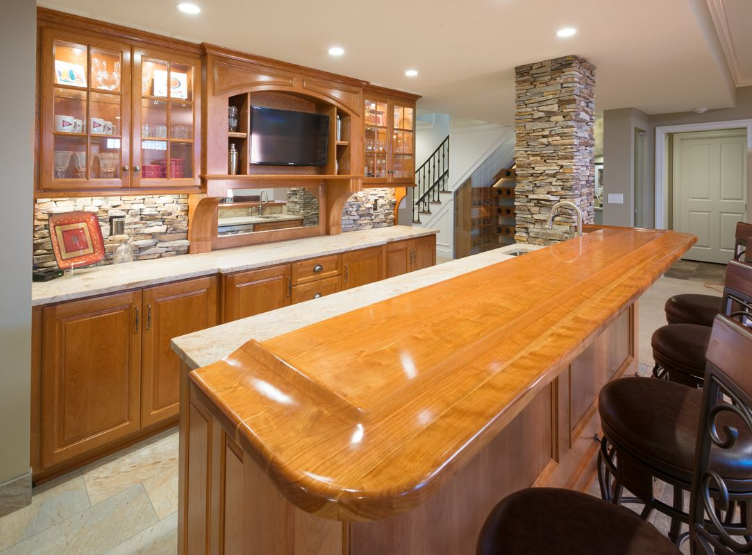 Countertop Finished With Waterlox Original Sealer/Finish. Wood  CountertopsWooden Countertops