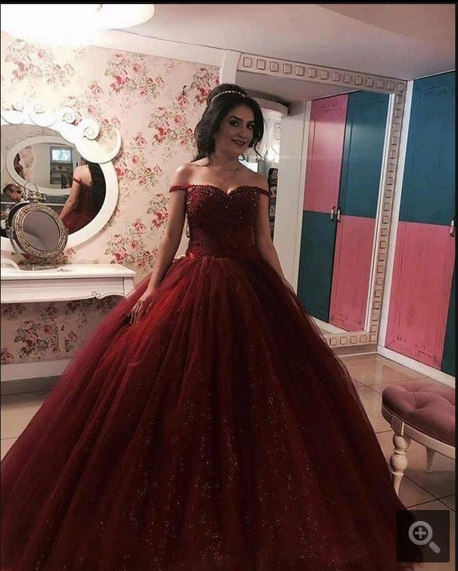 Prom Dress Ball Gown Prom Dress Off The Shoulder Prom