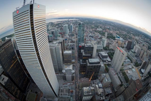 November 13, 2013: Curvy First Canadian Place #Toronto #UrbanToronto #FirstCanadianPlace #FCP