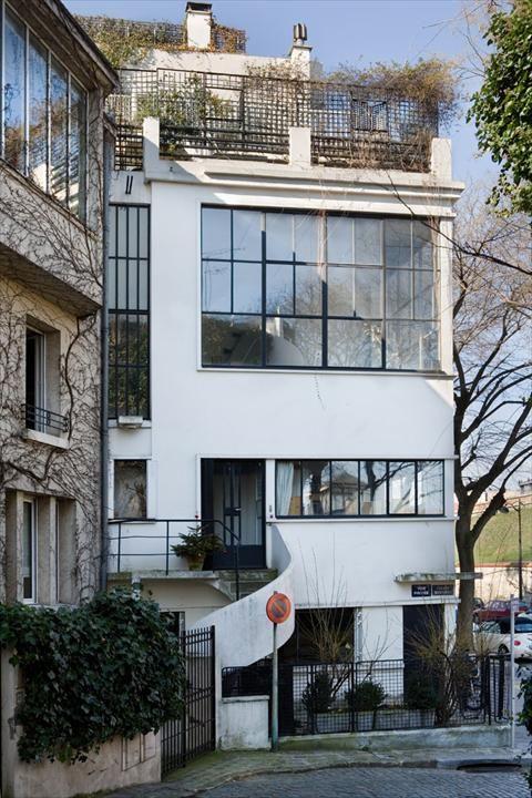 Fondation Le Corbusier - Buildings - Maison-atelier du peintre - peinture de facade maison