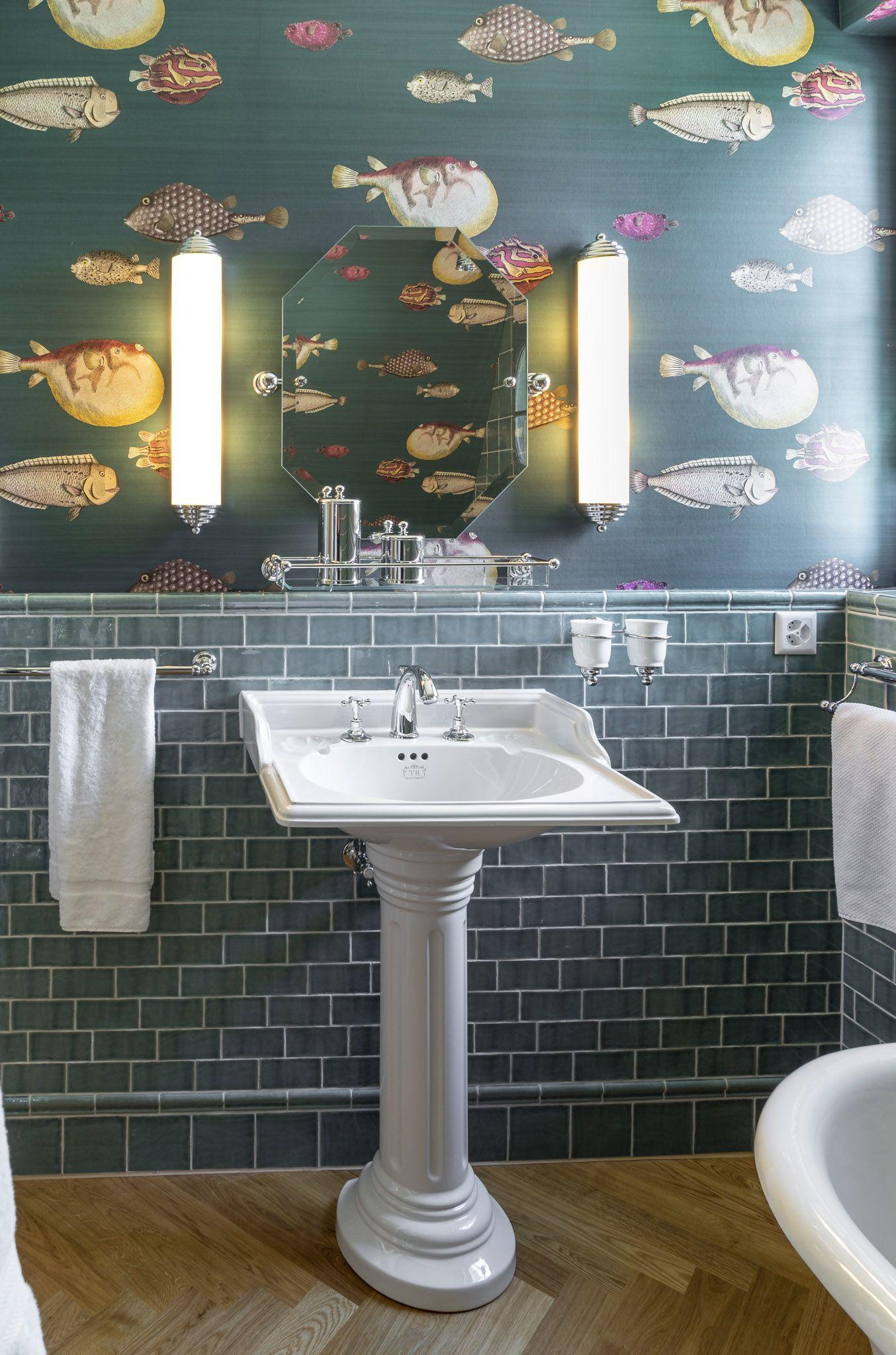 Vintage Waschtisch Badezimmer Schone Badezimmer Traditionelle Bader