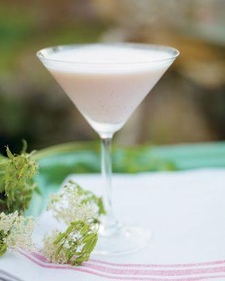 Rhubarb & Vodka Cocktail omnomnom!
