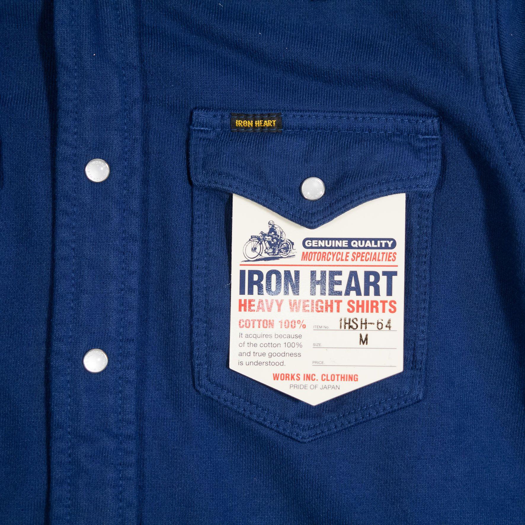 Iron Heart's IHSH-64 Jersey Western Shirt at www.burgundschild.com