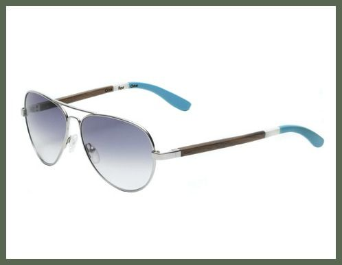 TOMS Sunglasses; for every pair of sunglasses purchased TOMS will help give sight to a person in need.