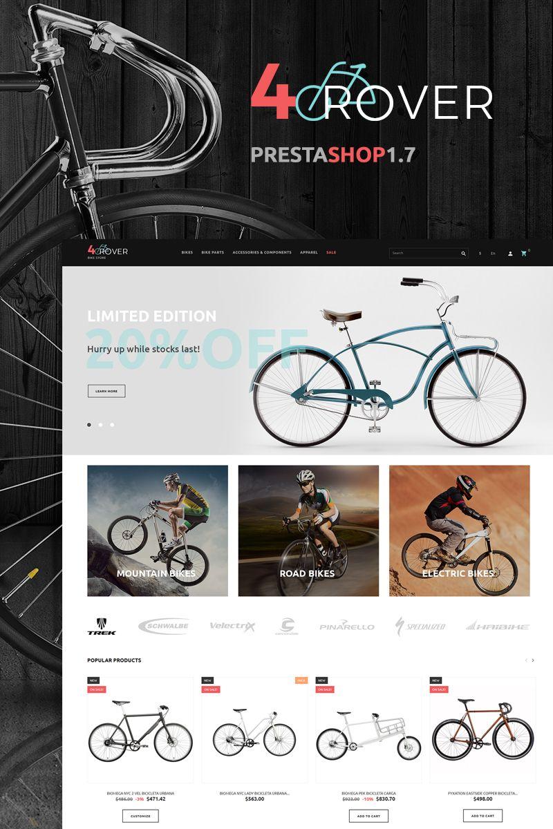 4rover Bike Store Prestashop Theme 66262 Bike Store Bike