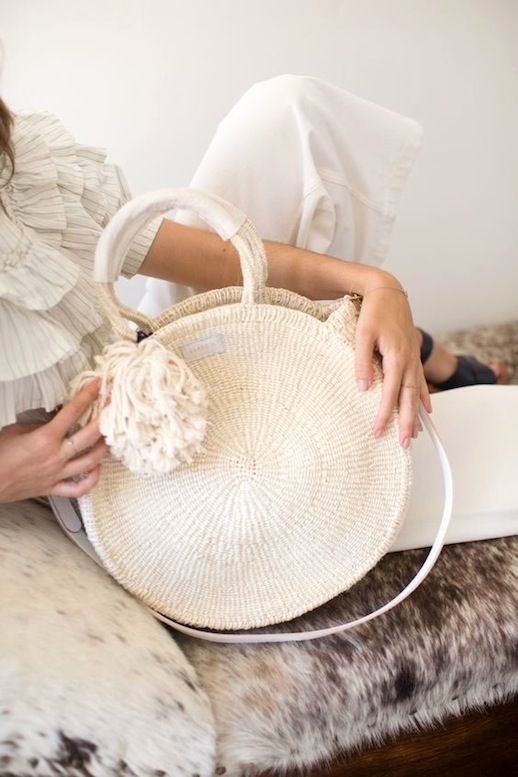 06919f654513 This Woven Circle Bag Is Way Too Cool (Le Fashion) | B a g s B ...