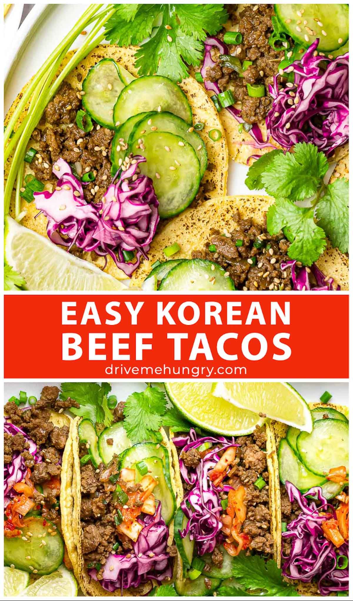 Korean Beef Tacos With Cabbage Slaw And Pickled Cucumbers Recipe In 2020 Korean Beef Tacos Korean Beef Healthy Appetizer Recipes