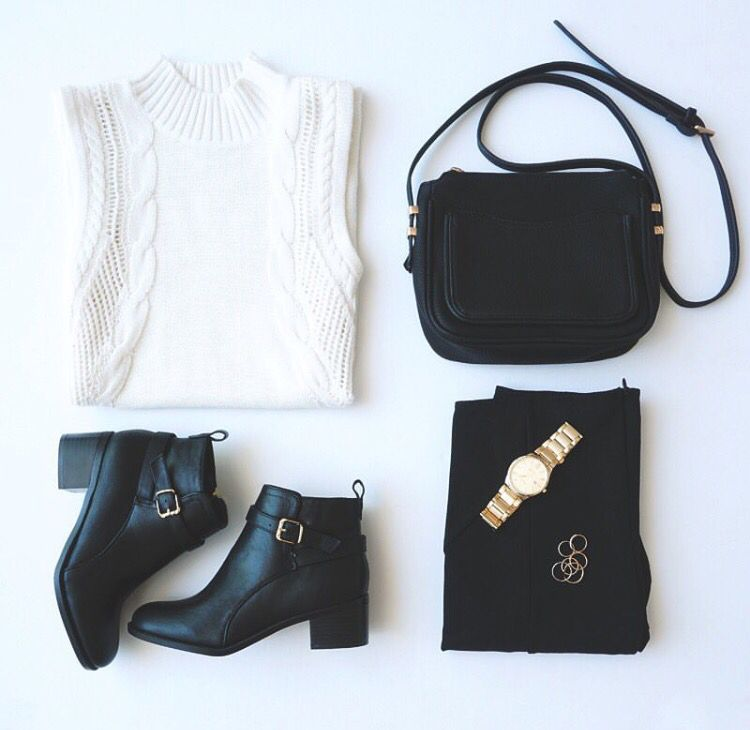Perfect summer to fall outfit!