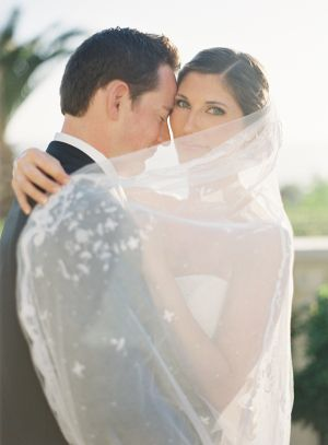 Cathedral Length Veil With Scalloped Lace Edge   photography by http://www.patmoyerweddings.com/