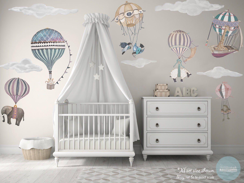 Choice of 1 ExLarge Animal/Girl Hot Air Balloon nursery