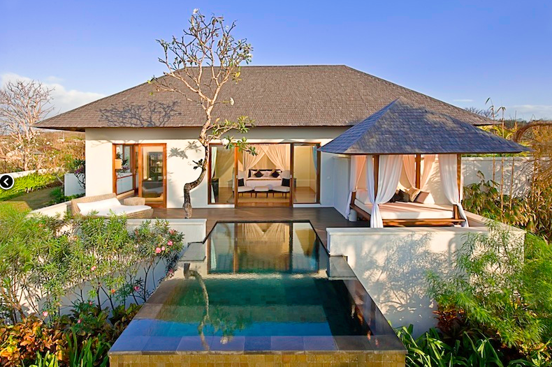 The Shanti Residence, Bali, Indonesia.