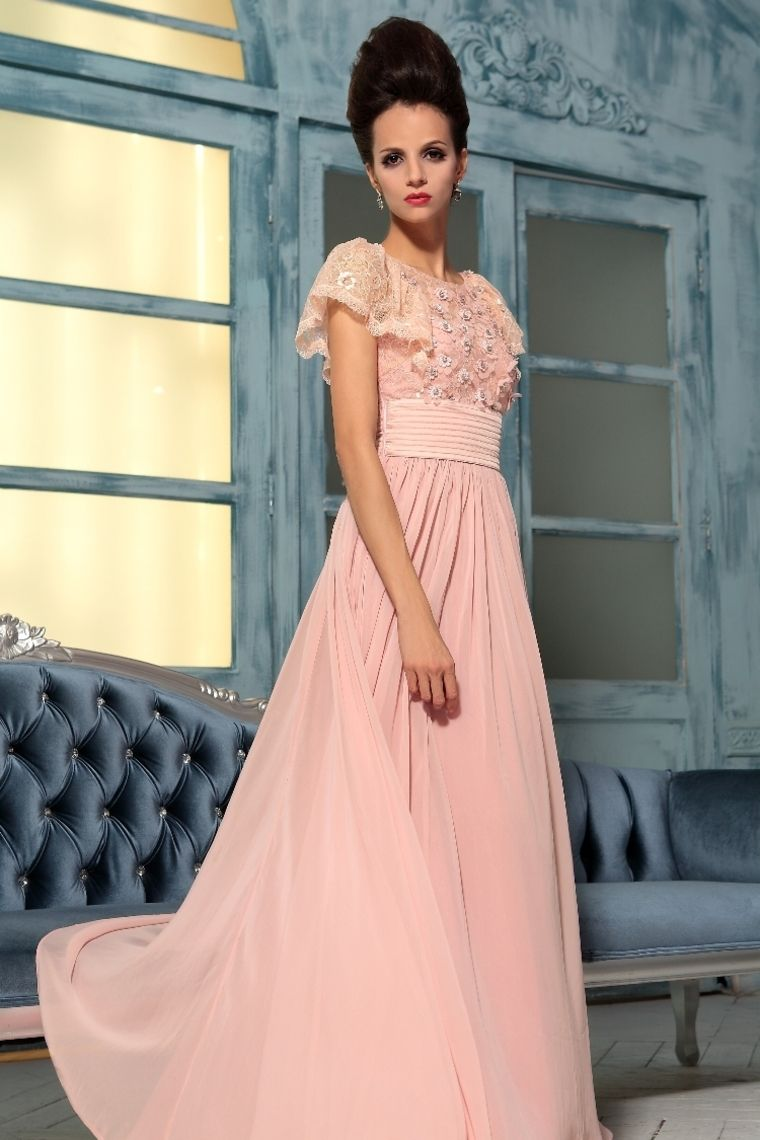 Buy 2013 Prom Dresses A Line Scoop Chiffon Floor Length 30767 latest ...