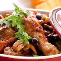 Evelyn's Chicken and Noodles Cacciatore Recipe   Wine Pairing   Gold Medal Wine Club