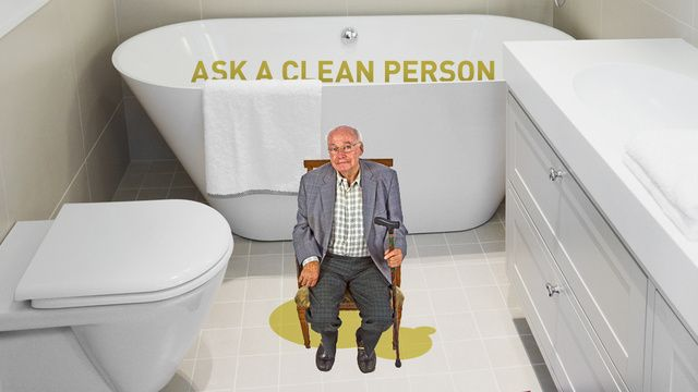 Help How Do I Get That Old Man Pee Smell Out Of My Bathroom Men Peeing Pee Smell Man Bathroom