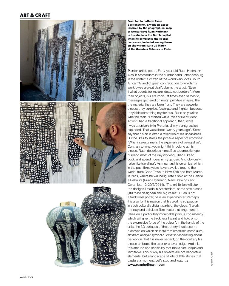 Elle Decor Italy Jan/Feb 2014