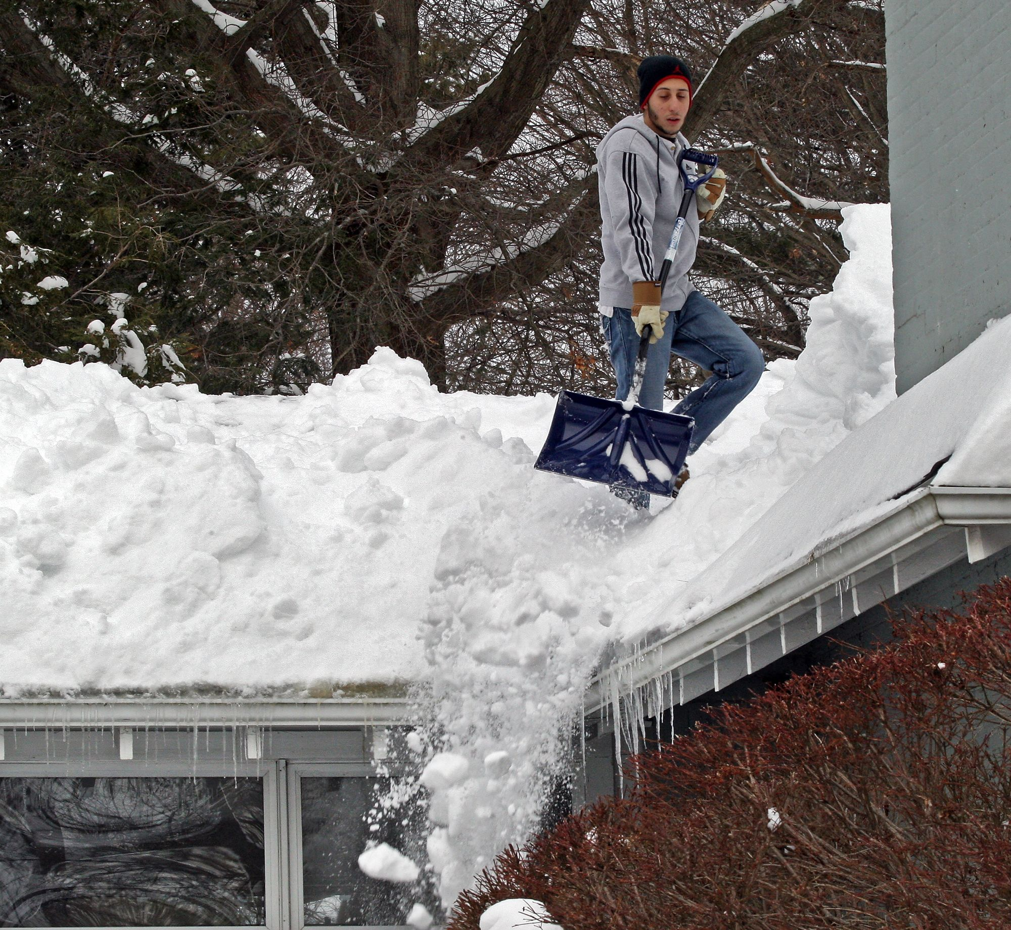 Snow Calls Go Through The Roof Snow Roof Collapsing Through The Roof