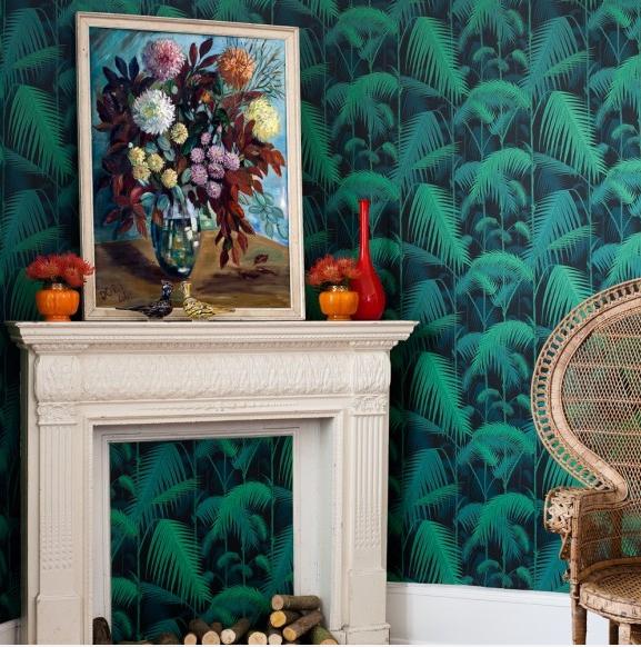 Papier peint Palm Jungle   Papier peint tropical, Jungle et Tropical