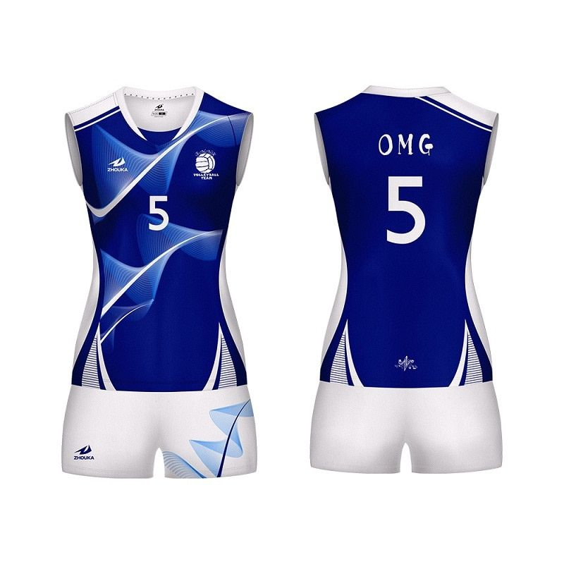 Customized Volleyball Uniform For Women Sublimation
