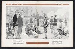 Y a-t-il une crise de l'élégance ? [1928] : [catalogue commercial], ill. Jean Routier