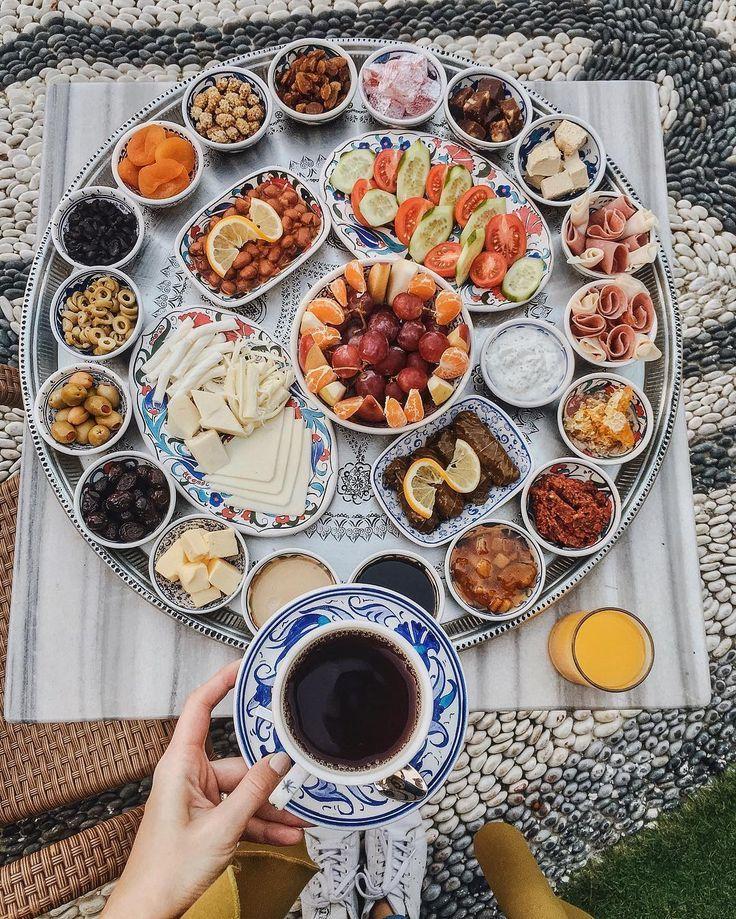 "Viktoriya Sener on Instagram: ""Starting amazing day with Turkish breakfast at @surahotels • начинаем день с необъятного турецкого завтрака • Türk kahvaltısı • �️��"""