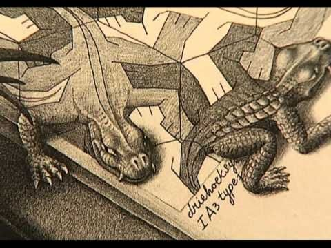 Escher Documentary   uploaded by stanchinsky to You Tube (59:35)