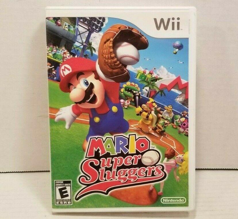 Mario Super Sluggers Nintendo Wii 2008 Disc Only In 2020