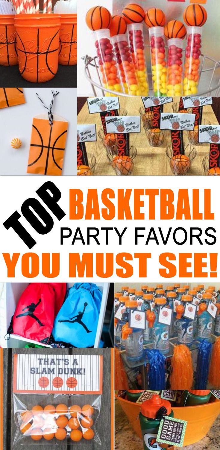 Basketball party favor ideas basketball party favors