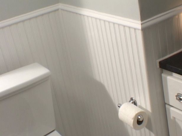 Operation Bathroom Beadboard Wainscoting Beadboard Bathroom How To Install Beadboard