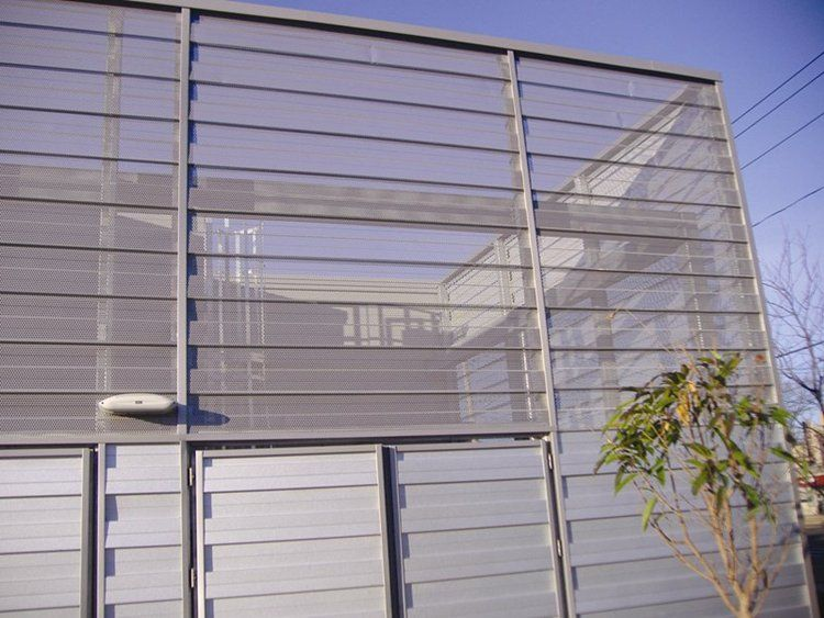 Metal Sheeting For Walls perforated metal wall panels - metal roofing, walls and ceilings