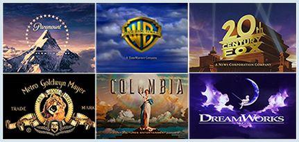 Major Film Studios Logos My Favorite Movie Studio Logos Hollywood Studios Movie Studio Favorite Movies