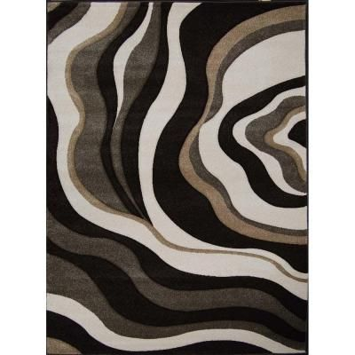 Home Dynamix Sumatra Dark Brown 7 Ft 10 In X 10 Ft 2 In Area Rug 1 8562c 514 At The Home Depot Medium Rugs Area Rugs Rugs