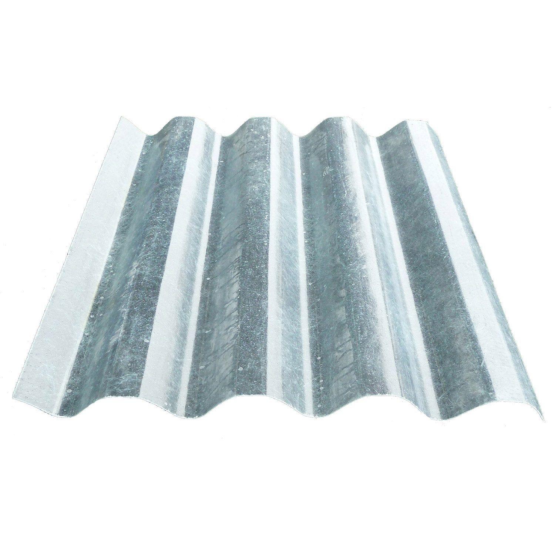 Plaque De Toiture Petite Onde Polyester Translucide L 0 96 X L 1 65 M Callibo Toiture Ondes Et Plaque