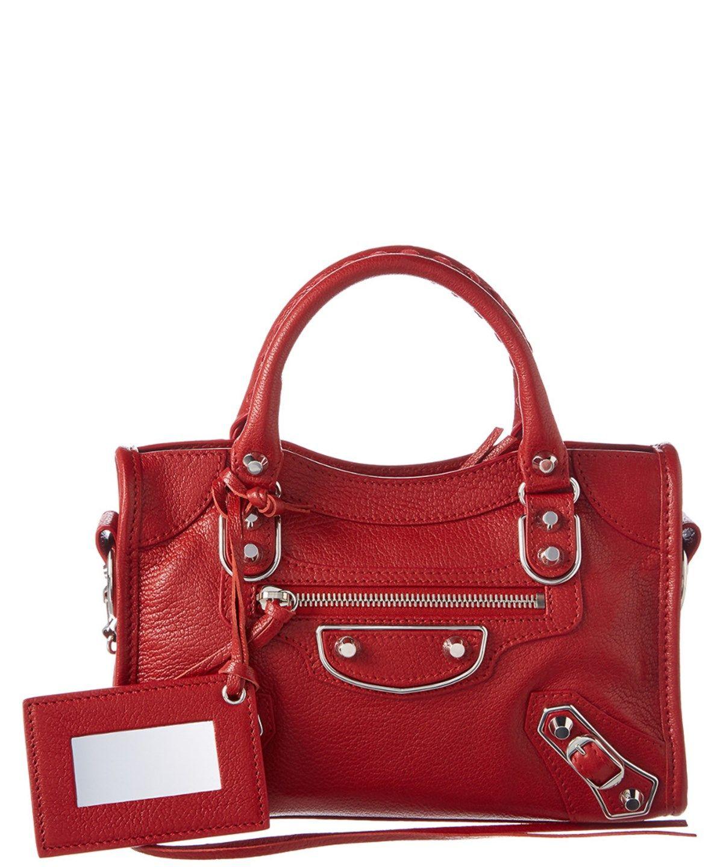 1f3ec8e347628b Balenciaga Mini City Bag in Red with GHW | To own in 2019 | Balenciaga mini  city bag, Balenciaga mini city, City bag
