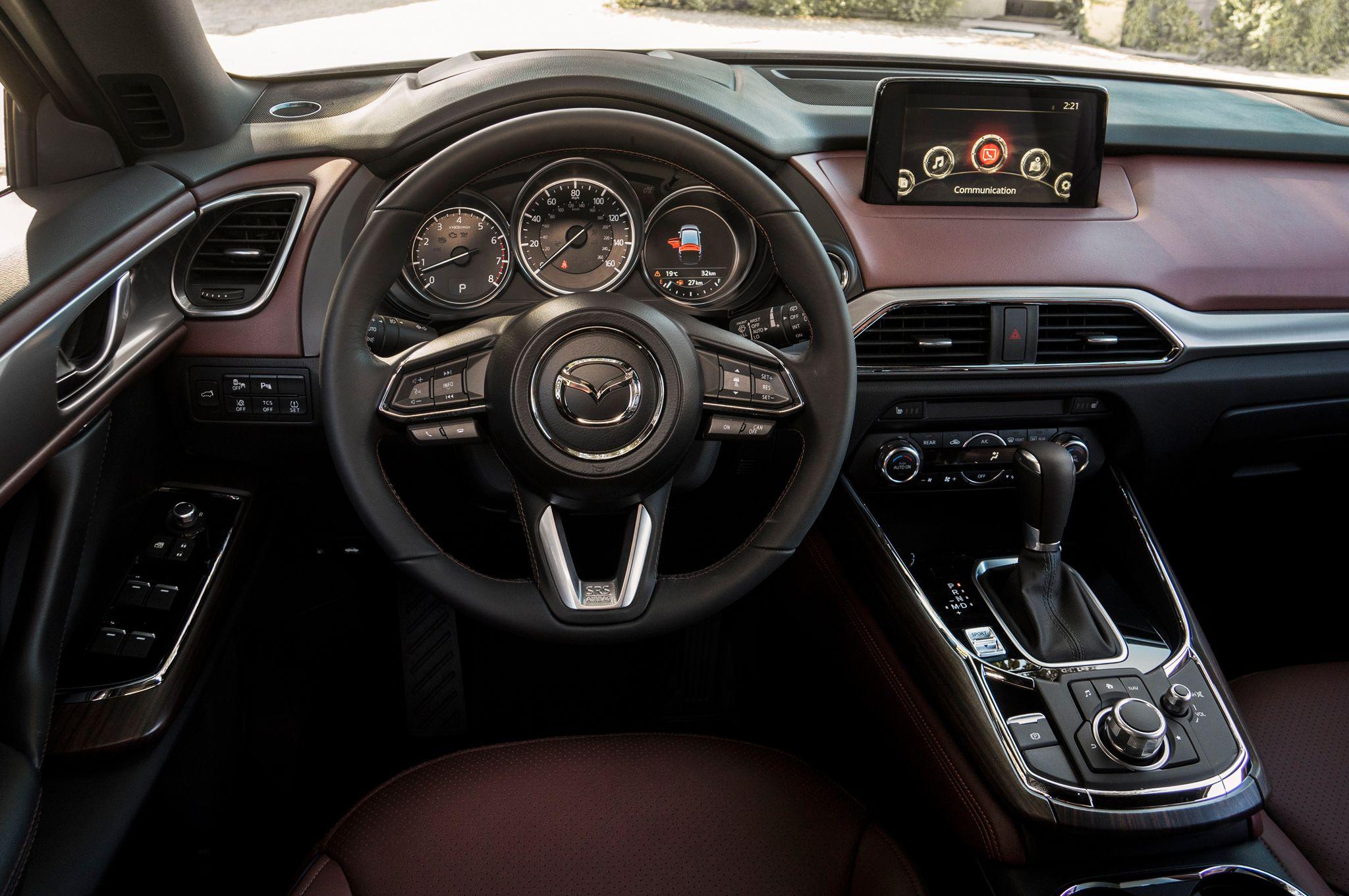 2016 Mazda Cx 9 Prototype First Drive Review Mazda Cx 9 Mazda