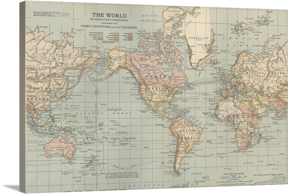 Antique World Map Old Vintage Map 1694 Fade Resistant Hd Art Print Or Canvas Antique World Map Map Art Print Antique Map