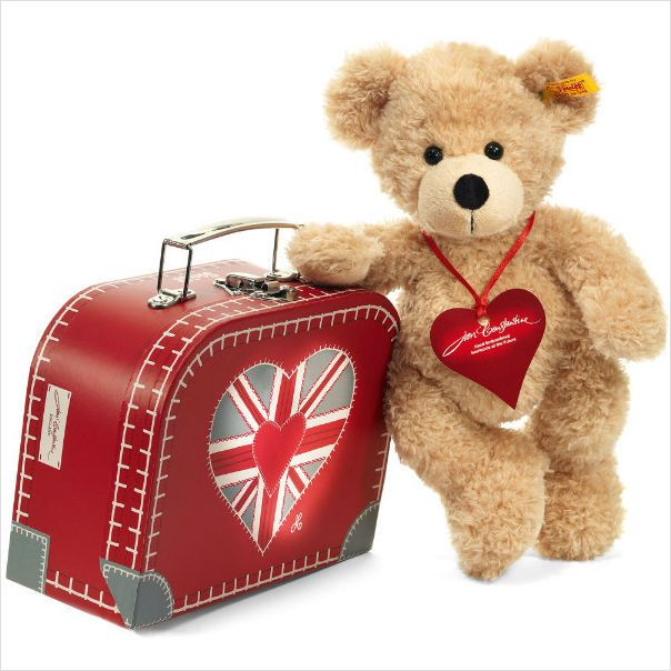 Image result for uNITED KINGDOM BEAR AND SUITCASE