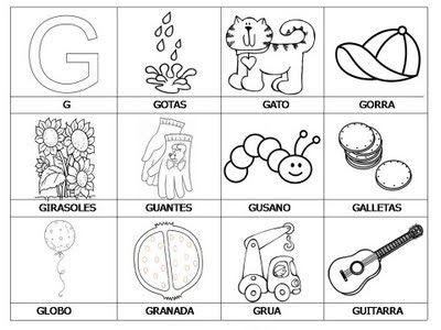 Colorea Tus Dibujos Laminas Con Dibujos Para Aprender
