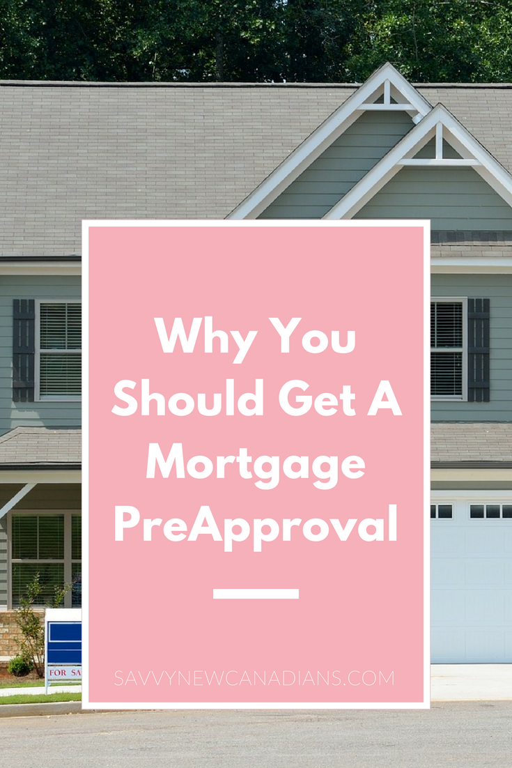 Why You Should Get A Mortgage PreApproval  Personal Finance