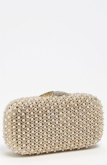 fa9786c04898e Natasha Couture Pearl Caged Clutch available at  Nordstrom. This clutch is  stunning...and will be a lovely heirloom you can use for formal events for  ...