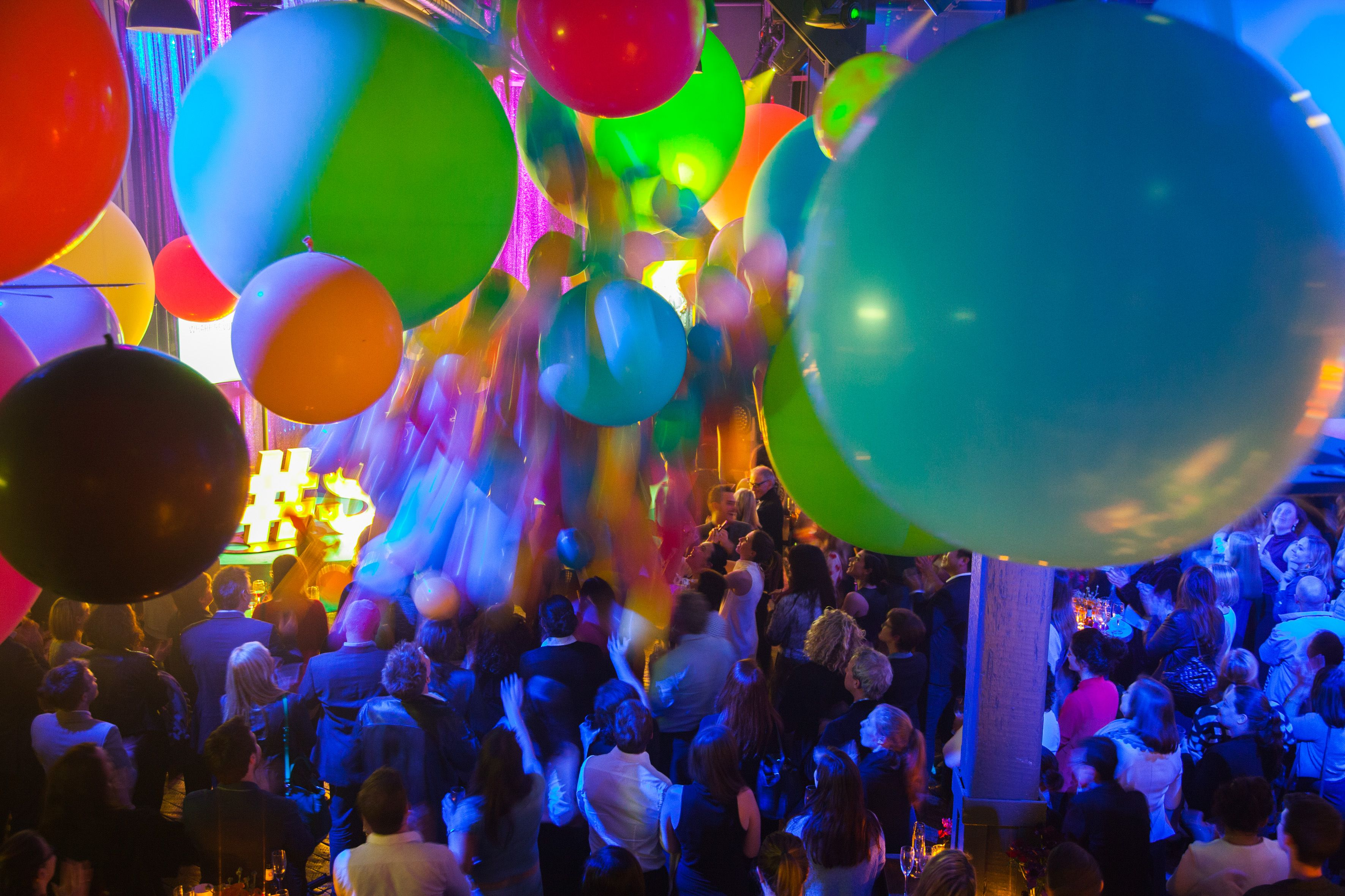 I Love The Movement In This Photo Fun Balloon Drop At
